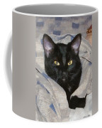 Undercover Kitten Coffee Mug by Jeff Kolker
