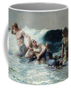 Undertow Coffee Mug by Winslow Homer