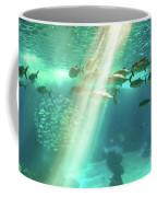 Underwater Background With Sunbeams Coffee Mug