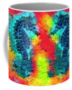 Underwater Rainbow Seahorses Coffee Mug