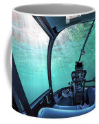 Underwater Ship Blue Ocean Coffee Mug