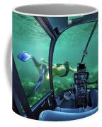 Underwater Submarine Woman Coffee Mug