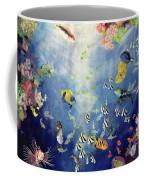Underwater World II Coffee Mug by Odile Kidd