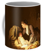 Undressing The Baby Coffee Mug