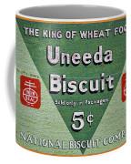 Uneeda Biscuit Vintage Sign Coffee Mug