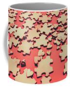 Unfinished Hearts Coffee Mug