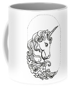 Unicorn Cameo Coffee Mug
