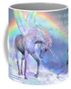Unicorn Of The Rainbow Card Coffee Mug