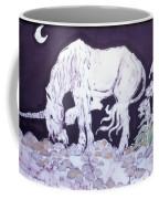 Unicorn Pauses Coffee Mug