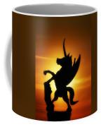 Winged Unicorn Sentinel  Coffee Mug