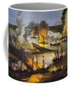 Union Bombardment, 1862 Coffee Mug