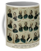 Union Commanders Of The Civil War   Coffee Mug