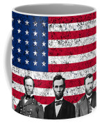 Union Heroes And The American Flag Coffee Mug