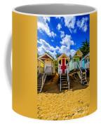 Union Jack Beach Hut 2 Coffee Mug