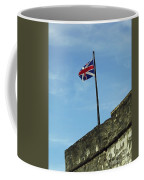 Union Jack Over The Castillo Coffee Mug