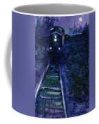 Union Pacific At Night Coffee Mug