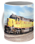 Union Pacific Up - Railimages@aol.com Coffee Mug