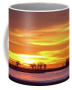 Union Reservoir Sunrise Feb 17 2011 Canvas Print Coffee Mug