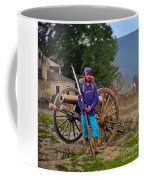 Union Soldier With Cannon Coffee Mug