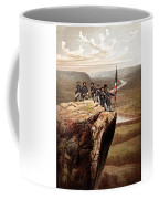 Union Soldiers On Lookout Mountain Coffee Mug