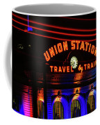 Union Station Lights Coffee Mug
