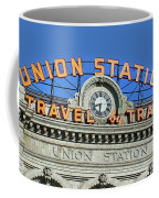 Union Station Sign Coffee Mug