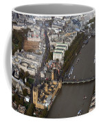 Unique And Rare Aerial View Of Iconic City Of London Coffee Mug