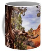 Unique Desert Beauty At Kodachrome Park In Utah Coffee Mug