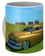 Unique Gold Street Rod Coffee Mug
