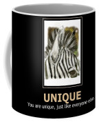 Unique Motivational Poster Coffee Mug by Darren Cannell
