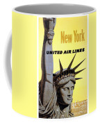 United Airlines  Coffee Mug