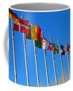 United We Stand Flags Art Coffee Mug
