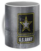 United States Army Logo On Steel Coffee Mug