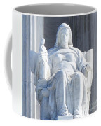 United States Supreme Court, The Contemplation Of Justice Statue, Washington, Dc 2 Coffee Mug