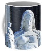 United States Supreme Court, The Contemplation Of Justice Statue, Washington, Dc 4 Coffee Mug