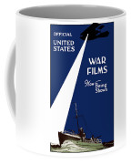 United States War Films Now Being Shown Coffee Mug by War Is Hell Store