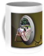Universal Portal - Use Red-cyan 3d Glasses Coffee Mug