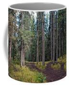 University Of Alaska Fairbanks Trail System Coffee Mug