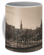 University Of Tampa With Old World Framing Coffee Mug by Carol Groenen