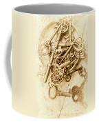 Unlocking The Past Coffee Mug