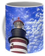 Unmistakable In Any Weather - West Quoddy Head Lighthouse Coffee Mug