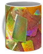Untitled Abstract Prism Plates IIi Coffee Mug