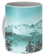 Untouched Winter Peaks Coffee Mug