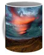 Unusual Clouds Catch Sunset Coffee Mug