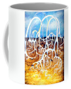 Unusual Construction On Planet Of Alien Civilization Coffee Mug