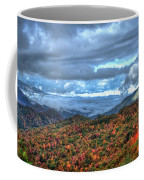 Up In The Clouds Blue Ridge Parkway Mountain Art Coffee Mug
