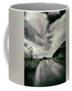 Up That Hill - Dark Coffee Mug