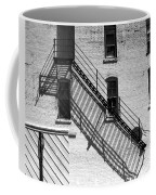 Up The Fire Escape Abstract Coffee Mug