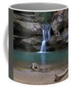 Upper Falls In Hocking Hills Coffee Mug