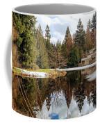 Upper Pond Reflections Coffee Mug